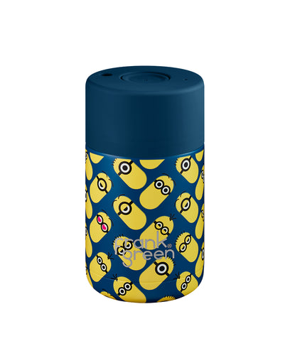 Frank Green Ceramic Reusable Cup 295ml - Deep Ocean Minions
