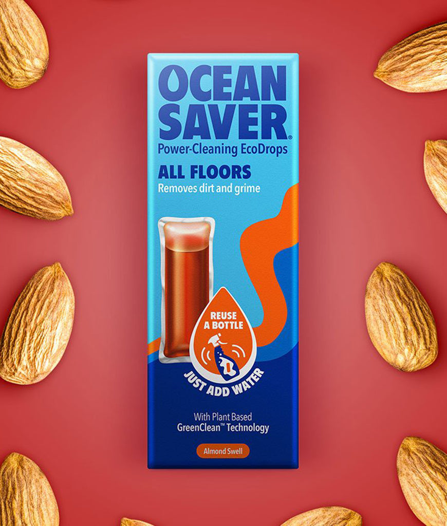 OceanSaver Wood Floor Cleaning Drops - Almond Swell