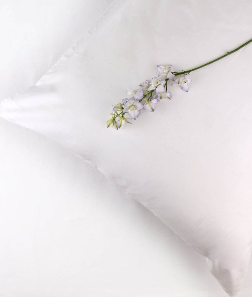 LittleLeaf Organic White Standard Pillowcase