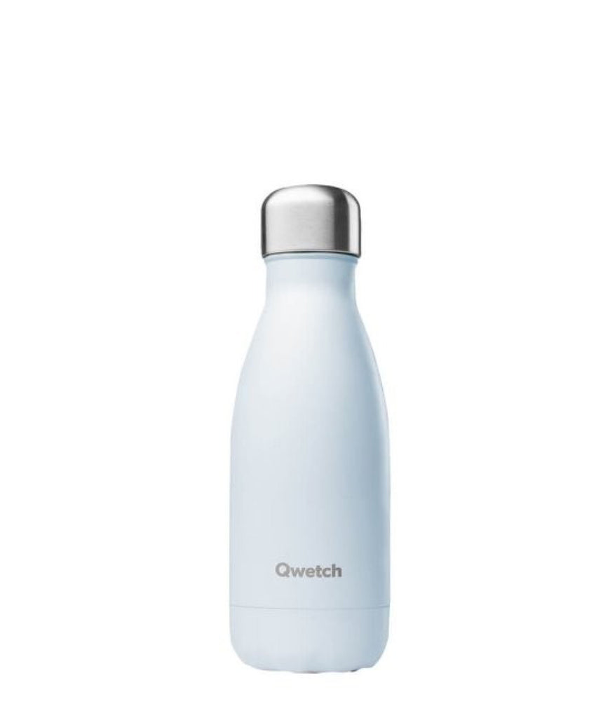 Qwetch Stainless Steel Water Bottle Pastel Blue - 260ml