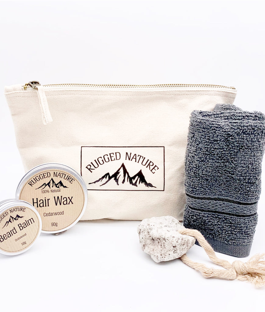 Rugged Nature Wash Kit - Sandalwood