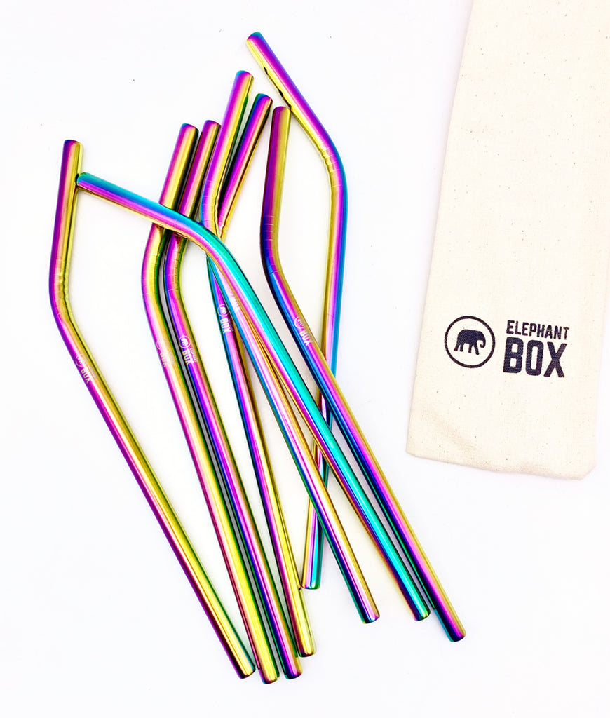 Elephant Box Straw Set