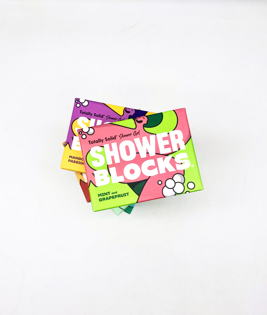 Shower Blocks Naked Mint & Grapefruit Solid Shower Gel - 100g