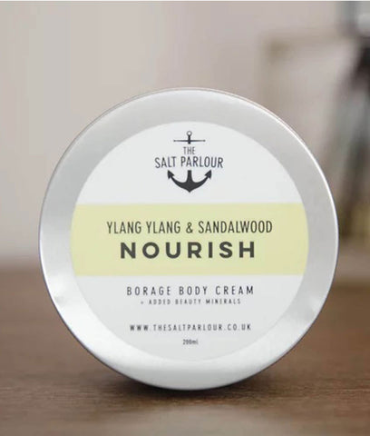 The Salt Parlour Bourage Body Cream NOURISH - 200ml