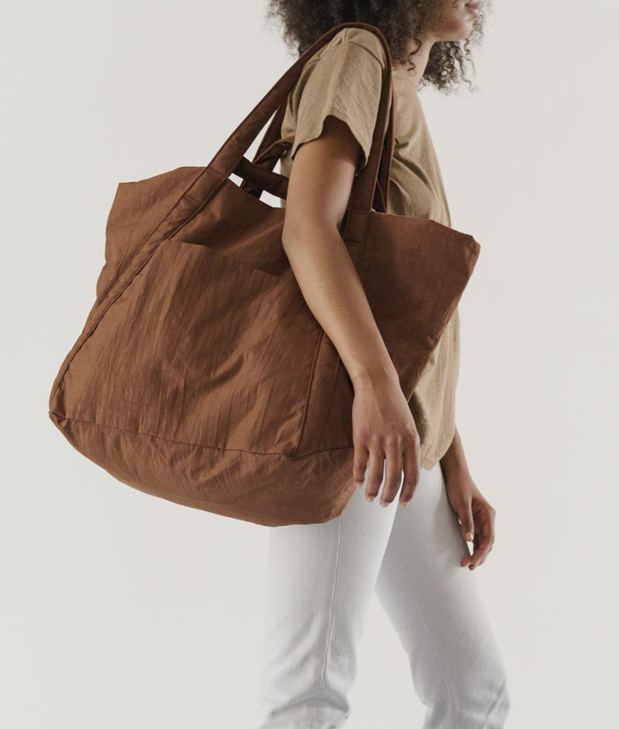 BAGGU Travel Cloud Bag - Brown