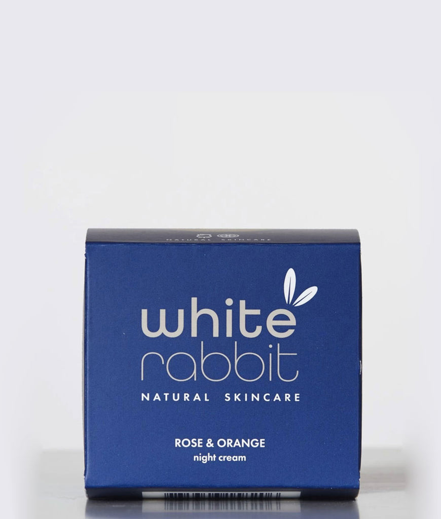 White Rabbit Skincare Rose & Orange Night Cream - 100ml
