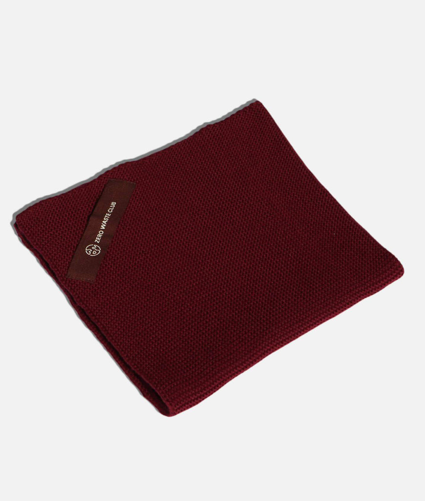 Zero Waste Club Organic Cotton Dish Towel - Plum Red