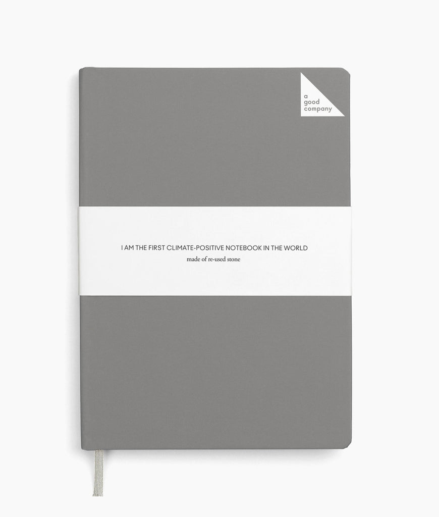 A Good Company Notebook A5 Lined - Grey