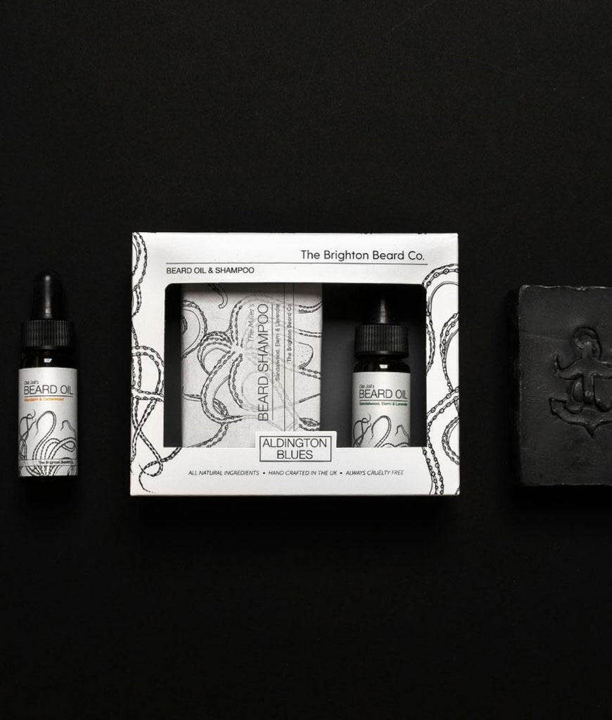 Brighton Beard Co Aldington Blues Gift Set