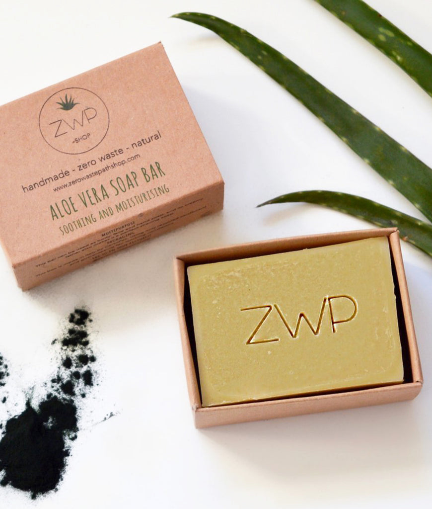 Zero Waste Path Soap Bar 100g - Aloe Vera