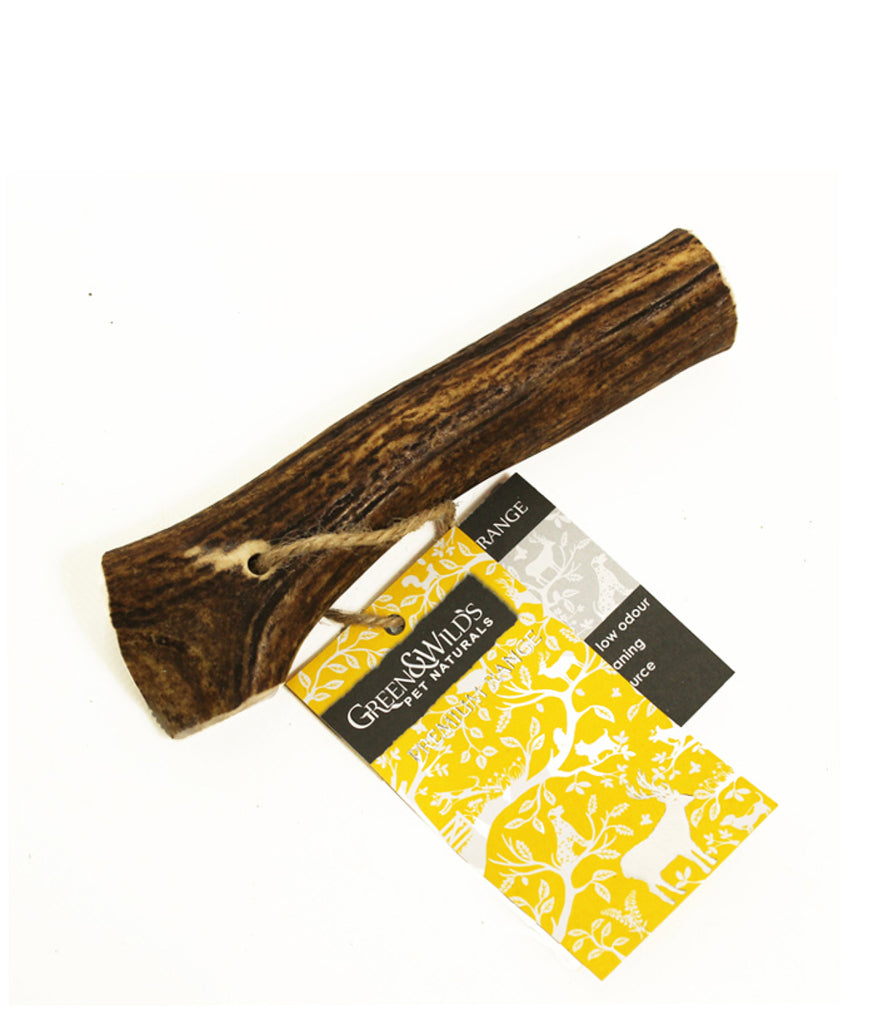 Green & Wild's Sustainable Antler Dog Chew - Medium
