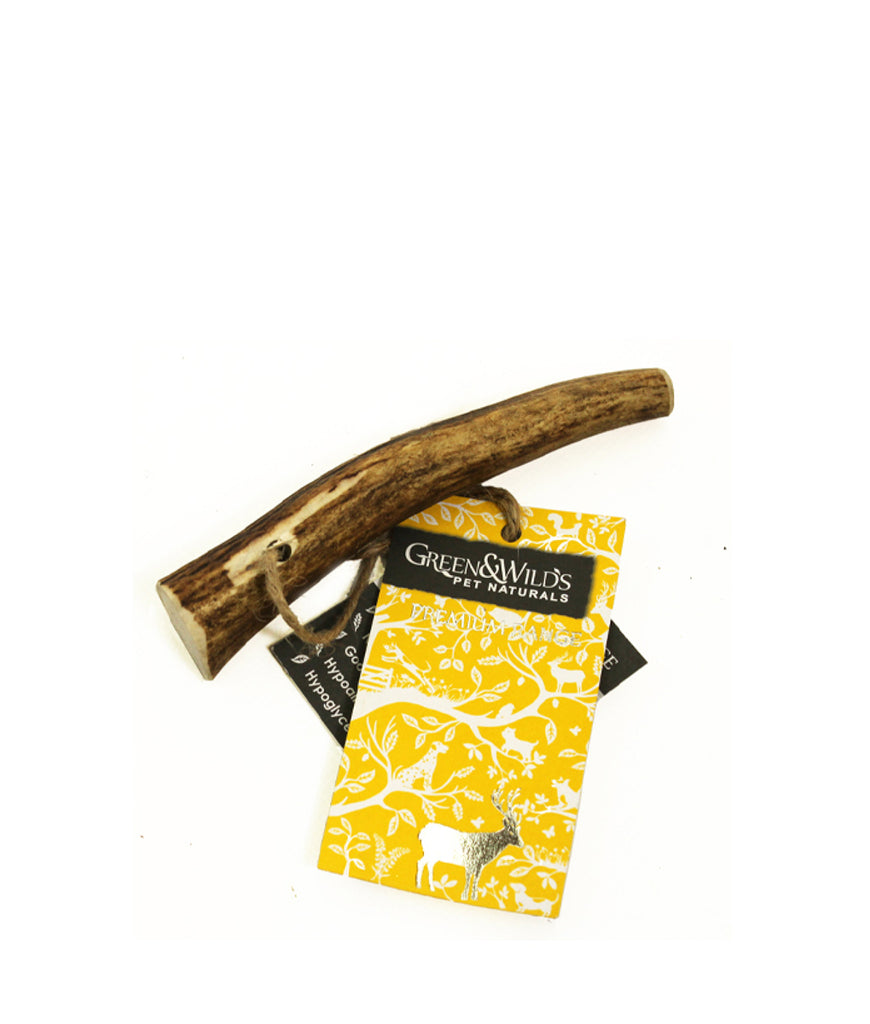 Green & Wild's Sustainable Antler Dog Chew - Puppy