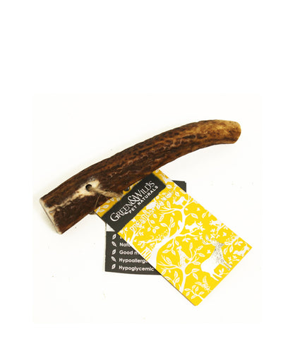 Green & Wild's Sustainable Antler Dog Chew - Small
