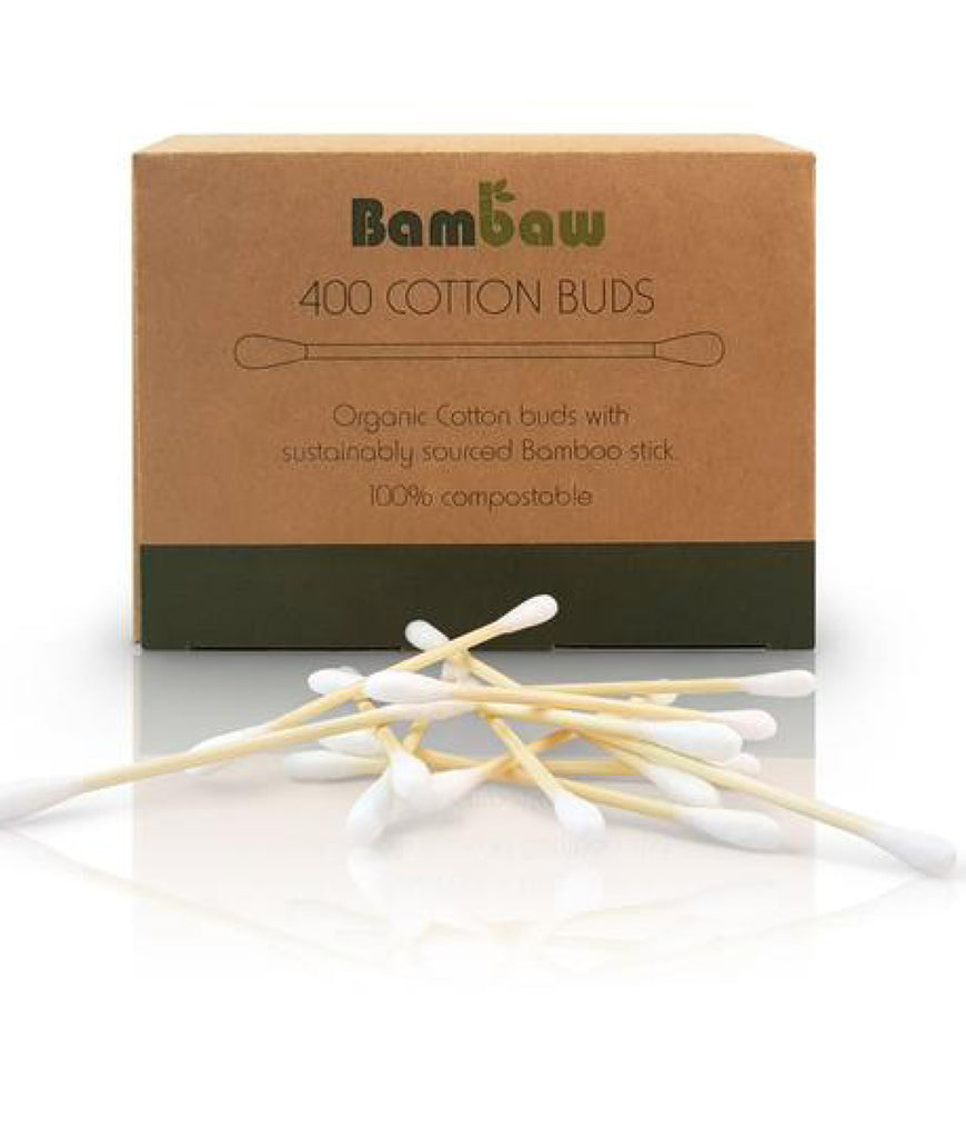 Bambaw Organic Cotton Buds - x400 Pack