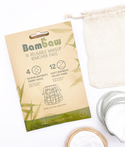 Bambaw Reusable Make Up Pad Set - x16 Pack