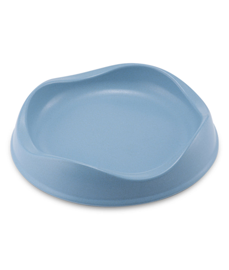 Beco Bamboo Cat Bowl - Blue