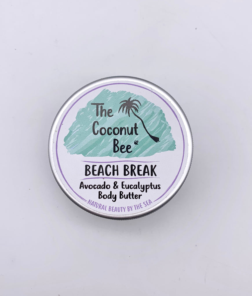 The Coconut Bee Beach Break Avocado & Eucalyptus Body Butter - 100ml