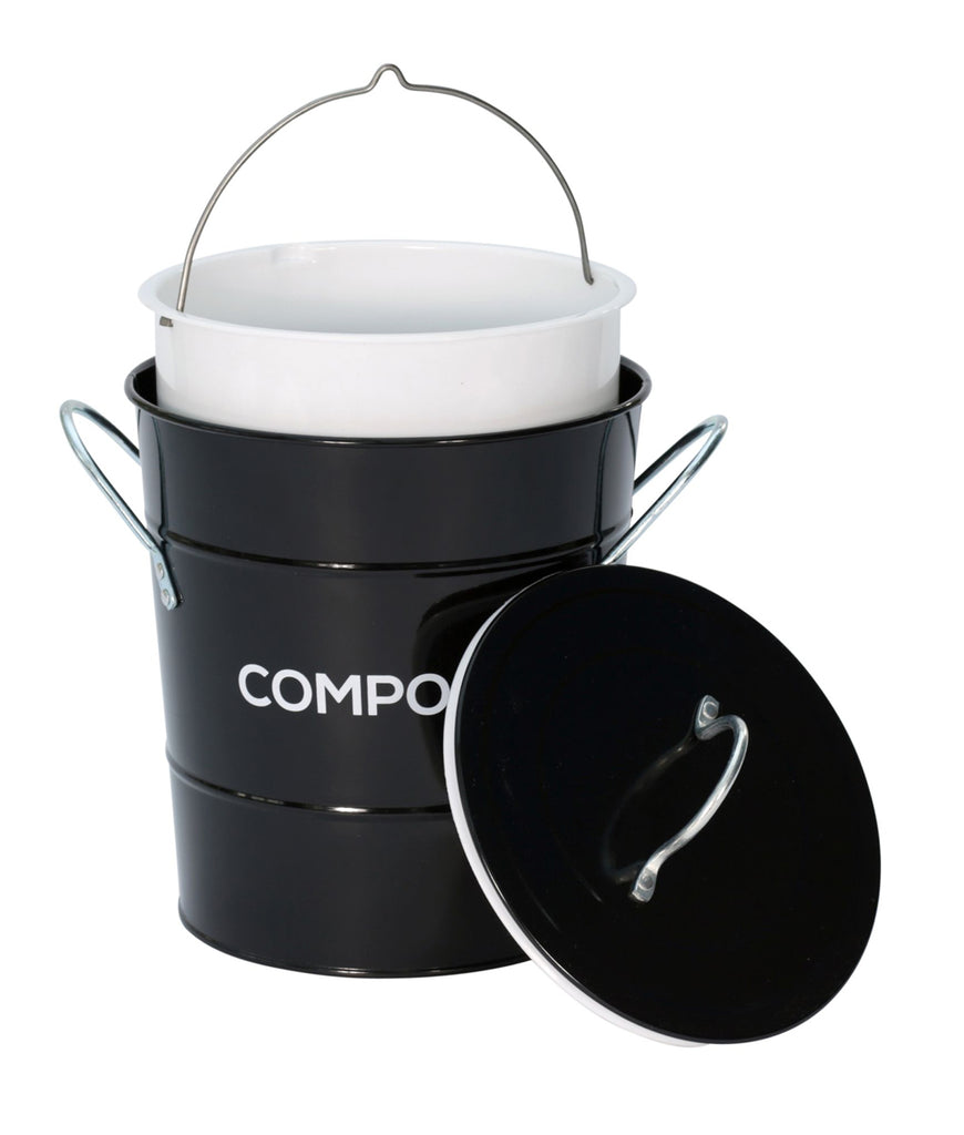 All Green Compost Bin - Black