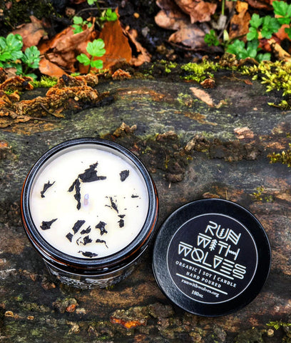 Run With Wolves Soy Wax Candle Black Moon - MINI 60ml