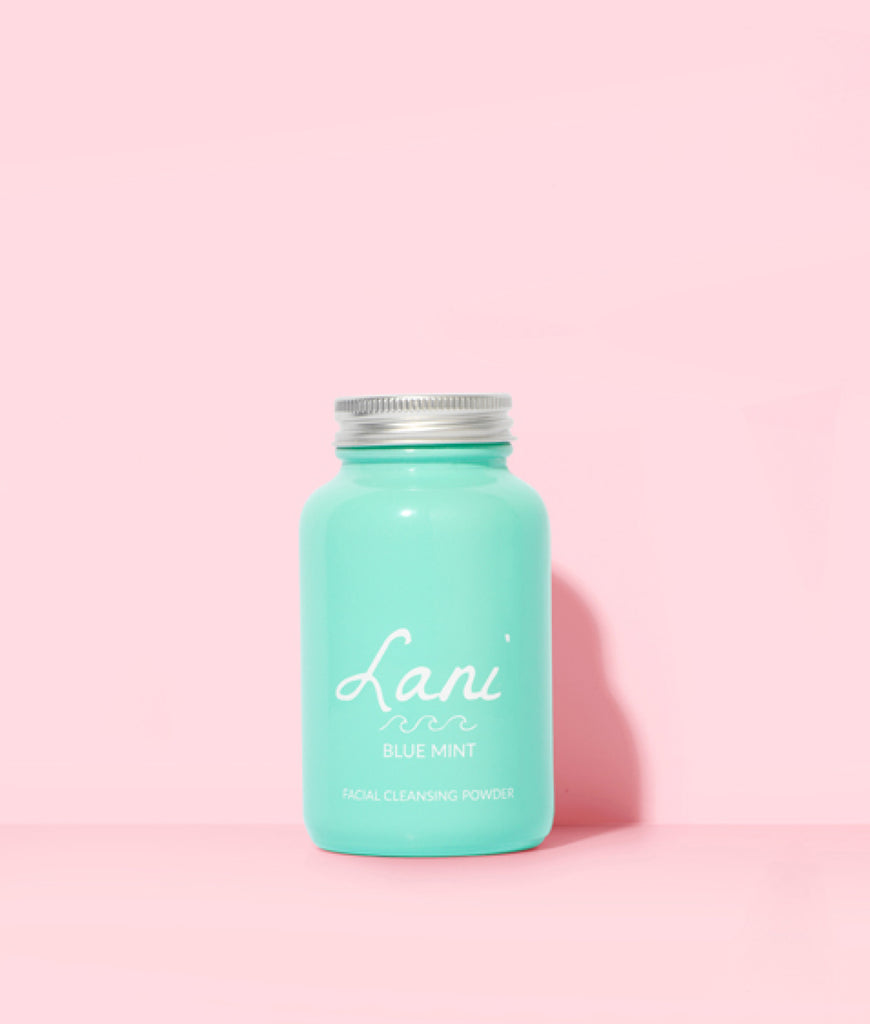 Lani Blue Mint Facial Cleanser - 65g