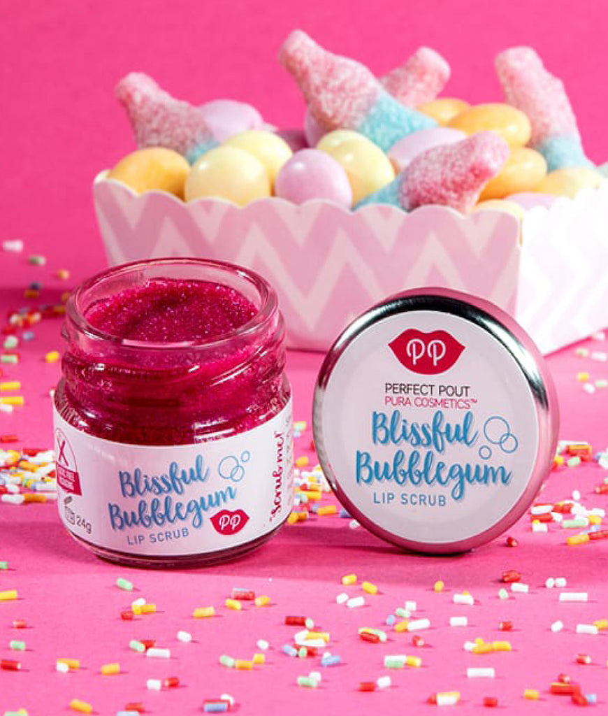 Pura Cosmetics Lip Scrub 24g - Blissful Bubblegum