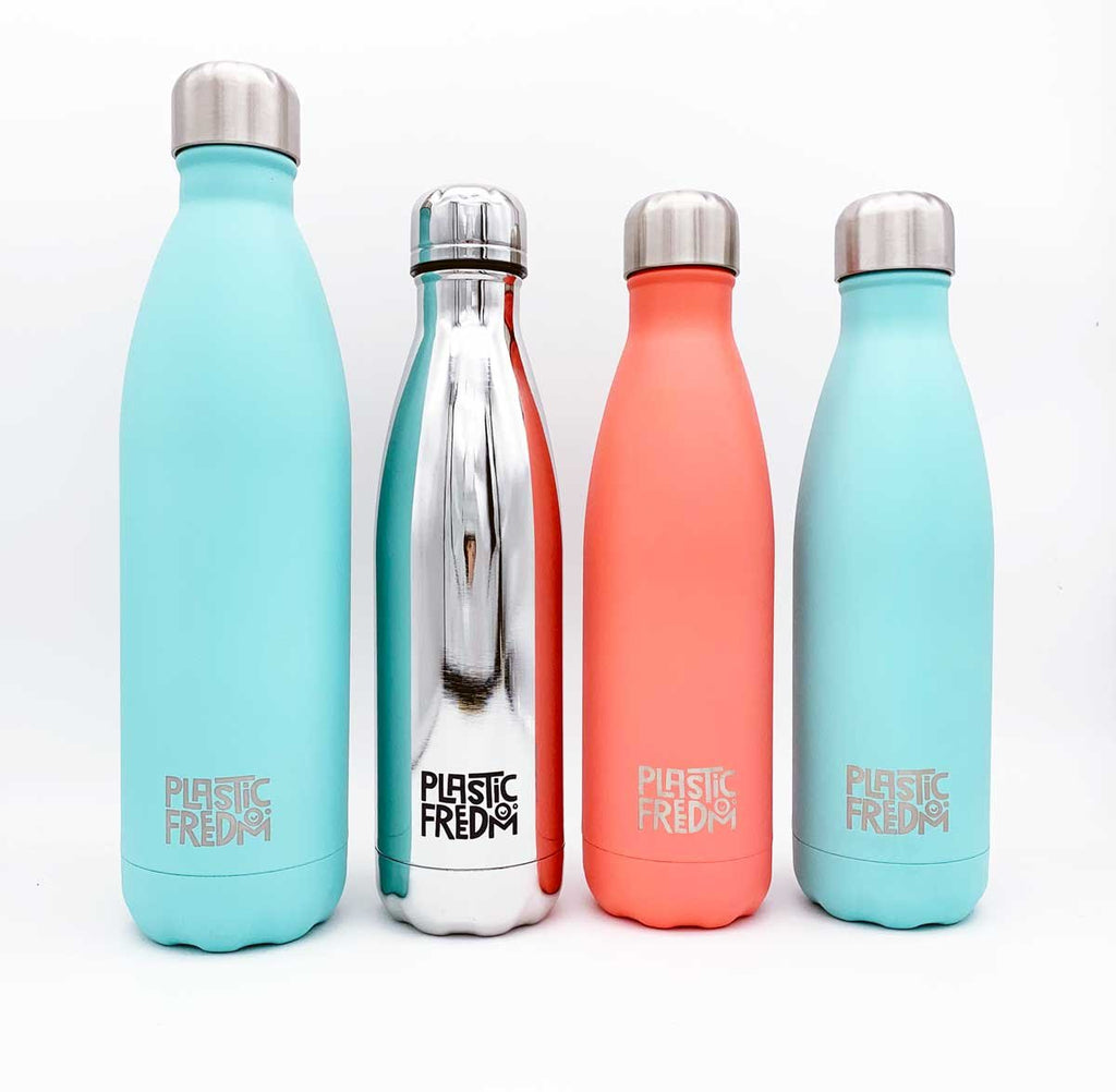 Plastic Freedom x Chilly's Bottle Coral - 500ml