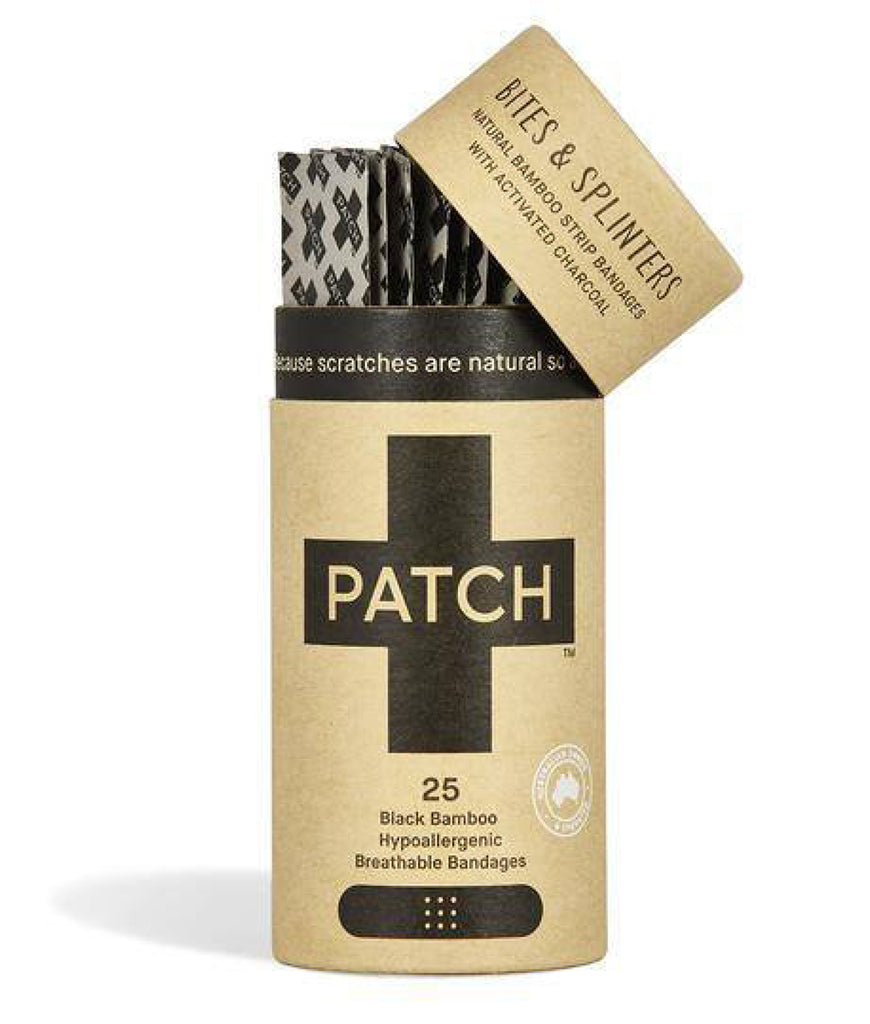 Patch Strips Plasters - Activated Charcoal