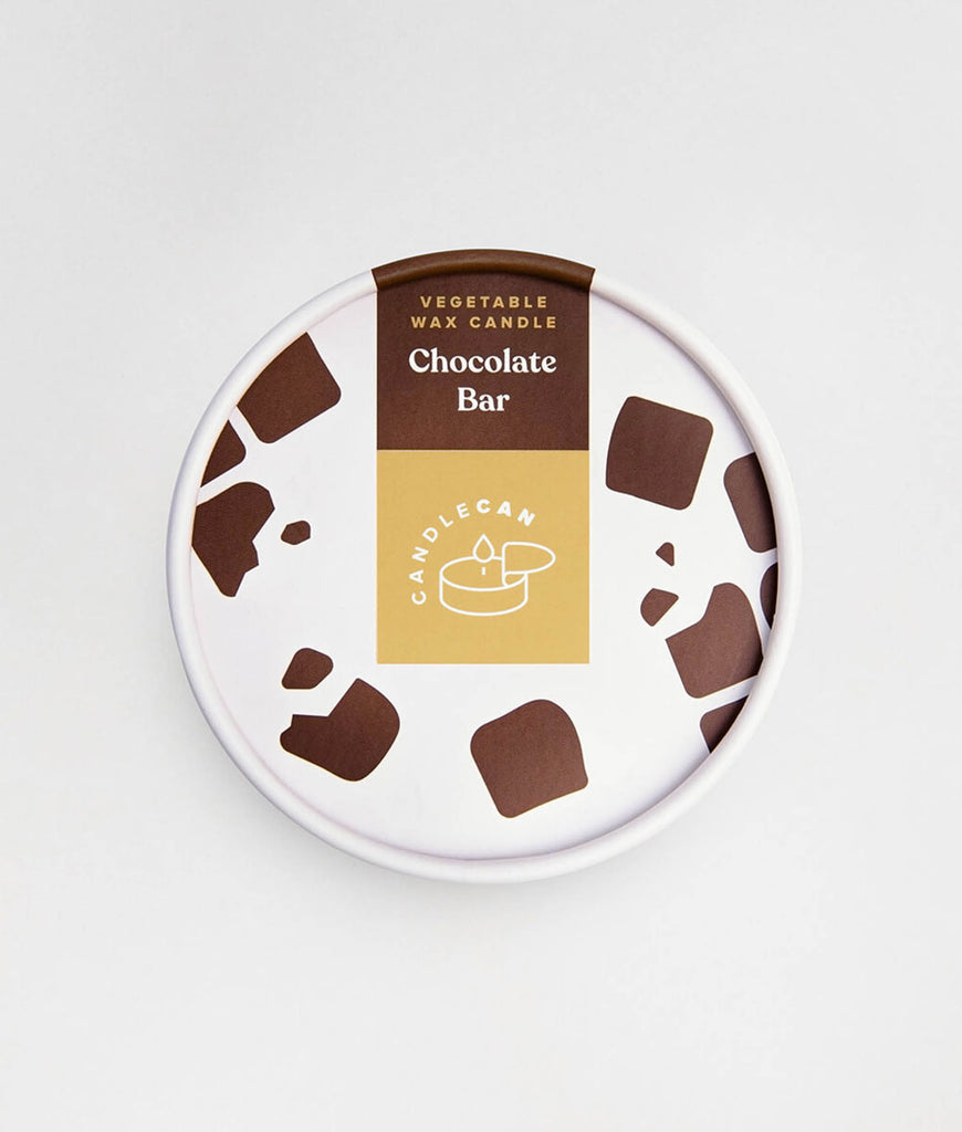 CandleCan Scented Candle - Chocolate Bar
