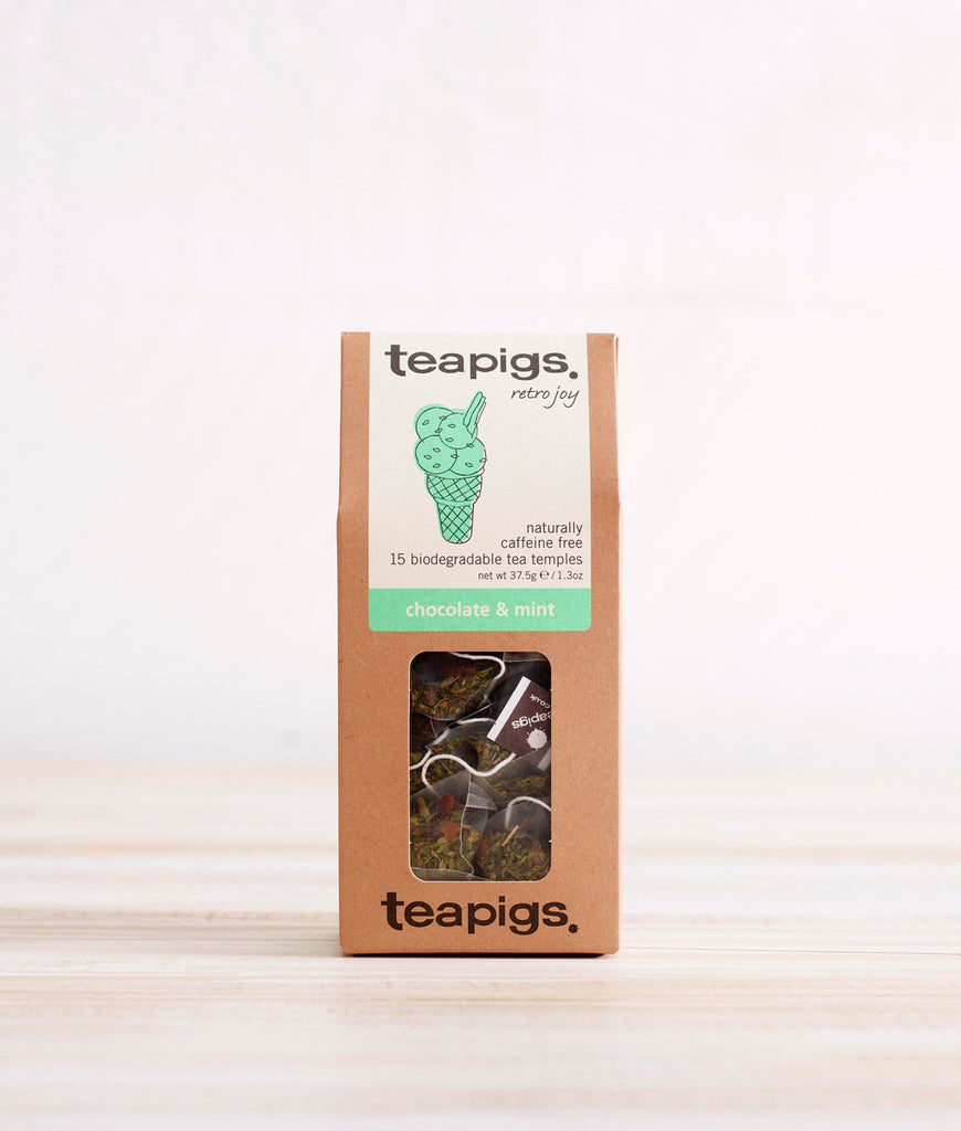 Teapigs Chocolate + Mint Tea - x15 Tea Temples