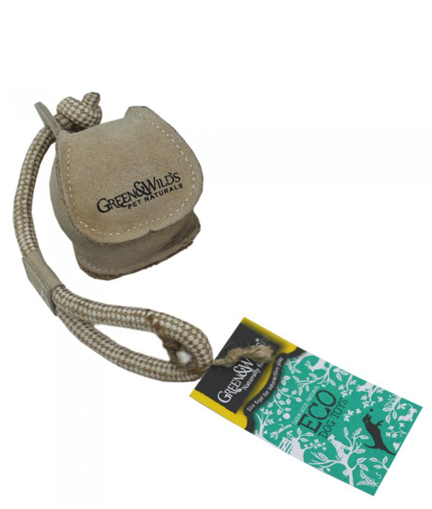Green & Wild's Eco Dog Toy - Chuck Ball