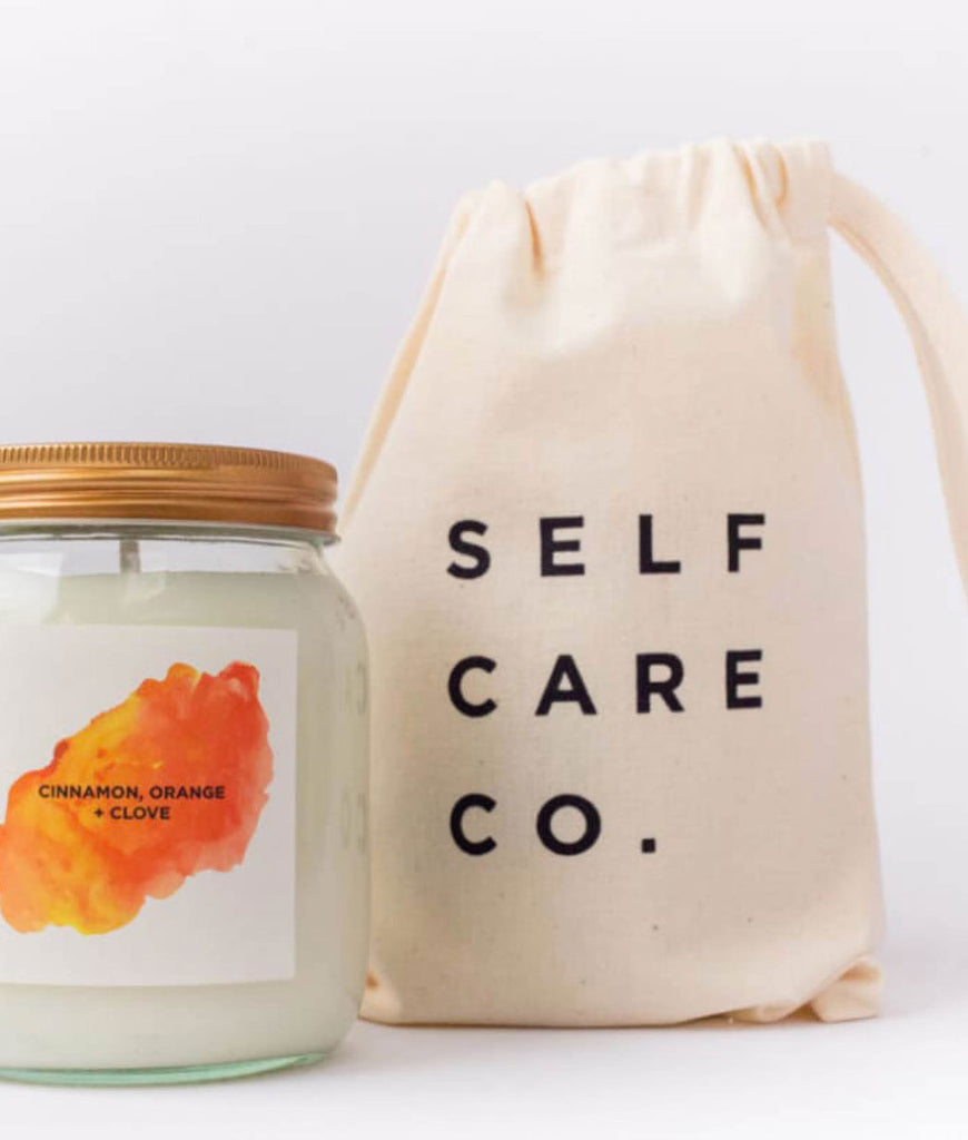 Self Care Co Aromatherapy Candle - Cinnamon, Orange & Clove