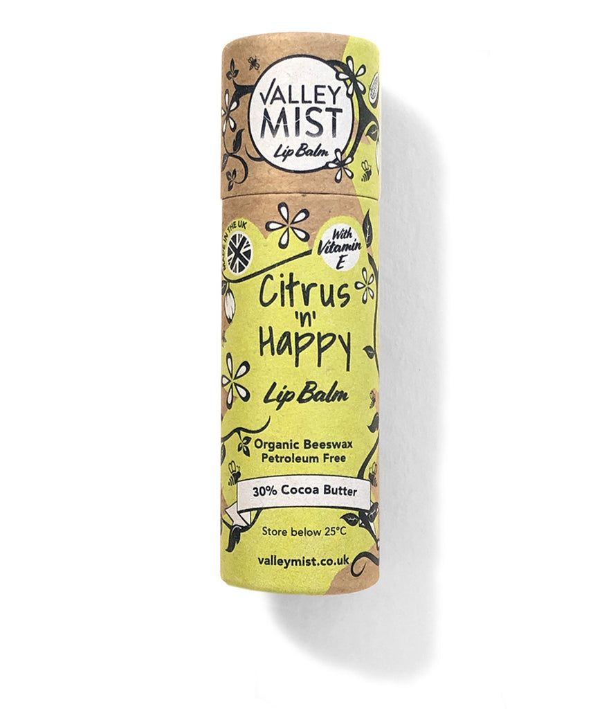 Valley Mist Citrus & Happy Lip Balm - 10g