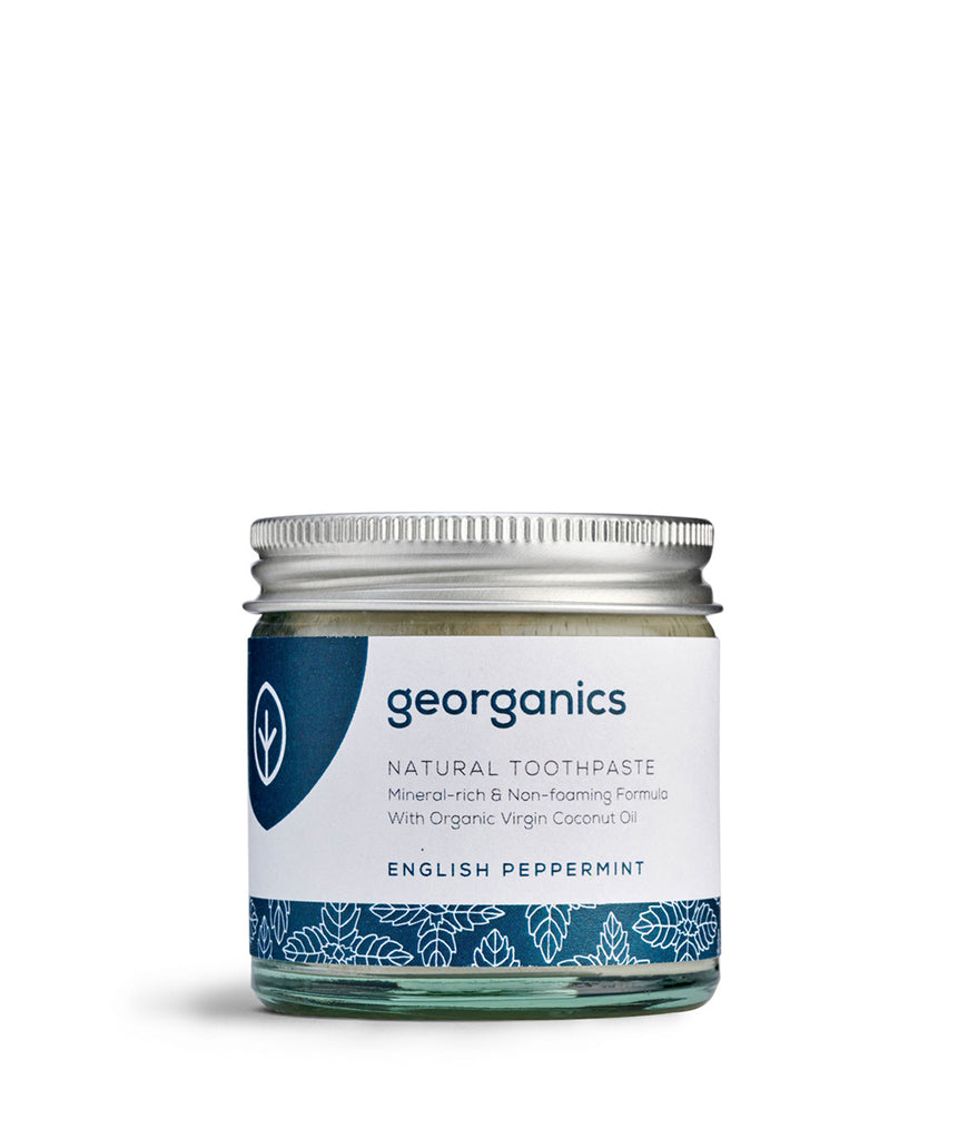 Georganics Coconut Oil Toothpaste English Peppermint - 120ml