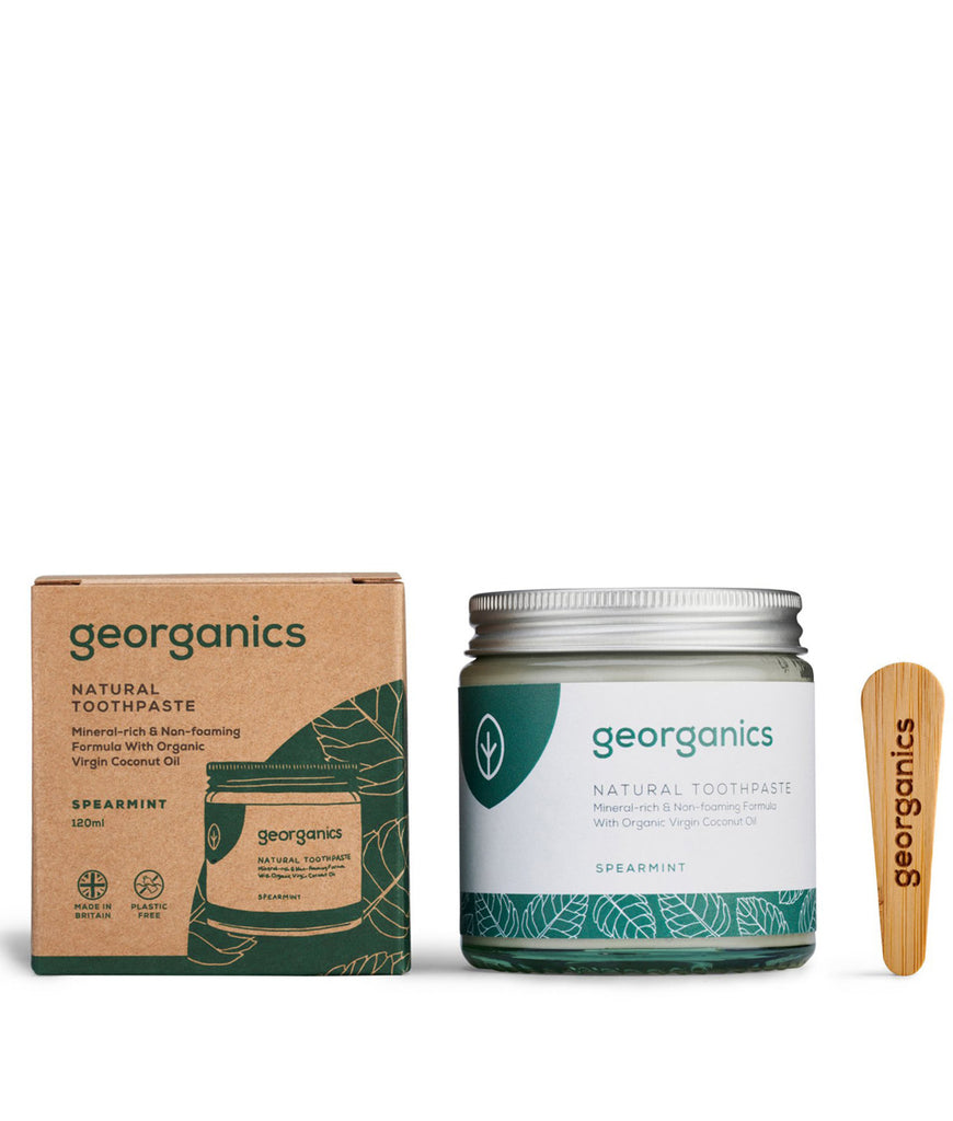 Georganics Coconut Oil Toothpaste Spearmint - 120ml