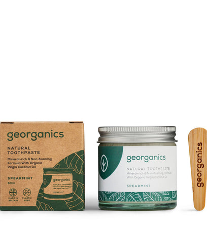 Georganics Coconut Oil Toothpaste Spearmint - 60ml