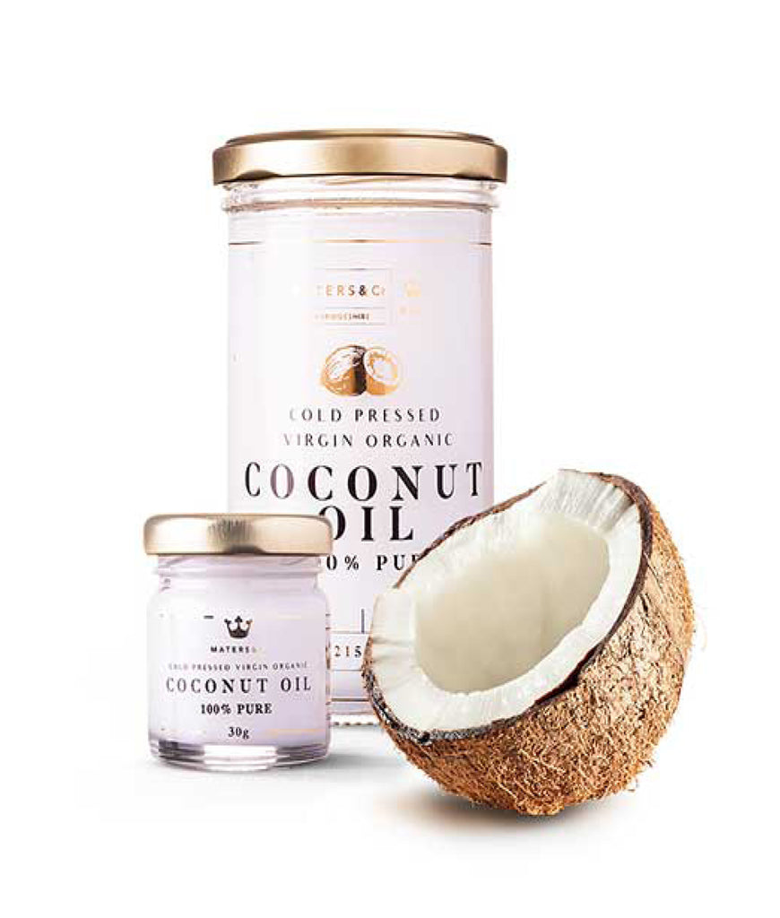 Maters & Co Cold Pressed Virgin Organic Coconut Oil - 30g