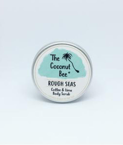 The Coconut Bee Rough Seas Coffee & Lime Scrub - 100ml