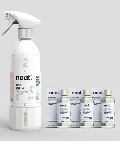 Neat Complete Multi Purpose Cleaner Set - Fragrance Free