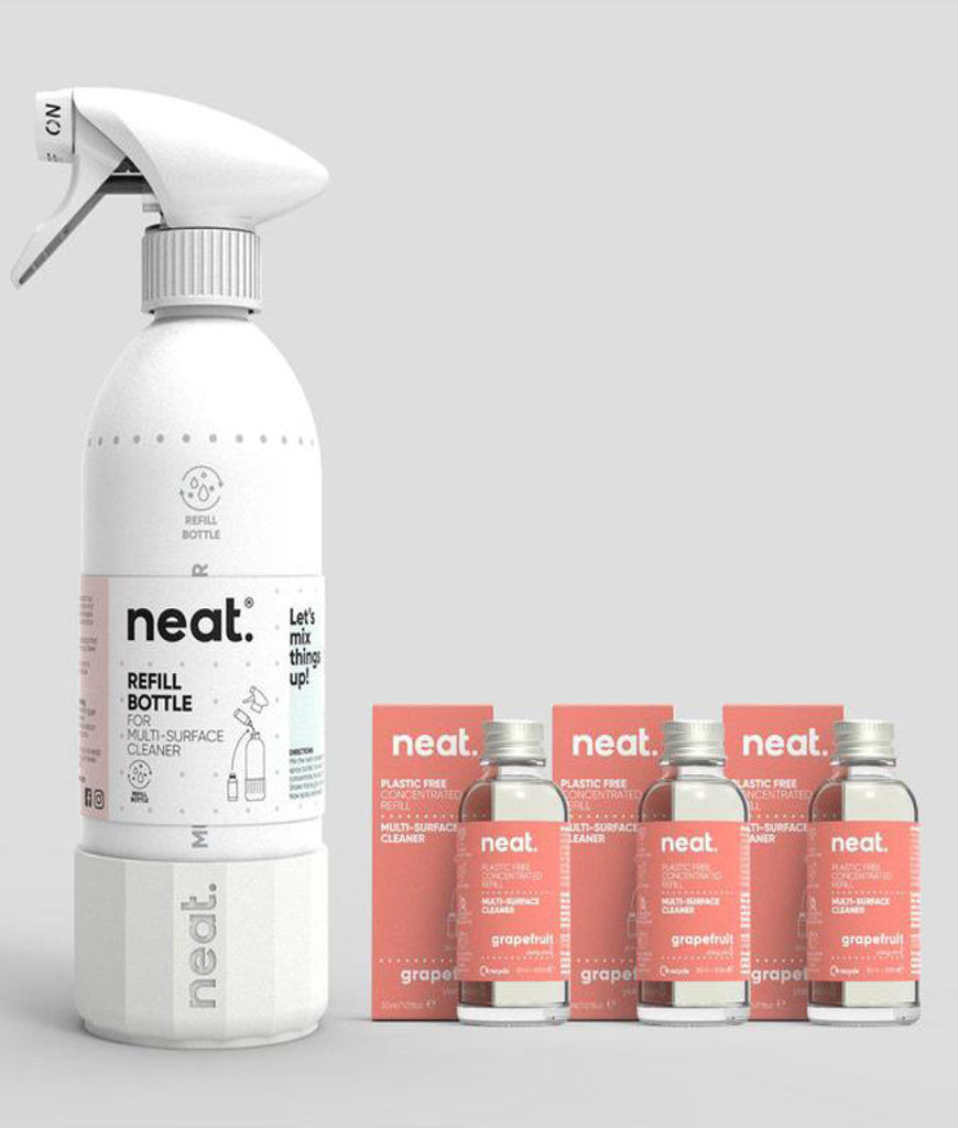 Neat Complete Multi Purpose Cleaner Set - Grapefruit