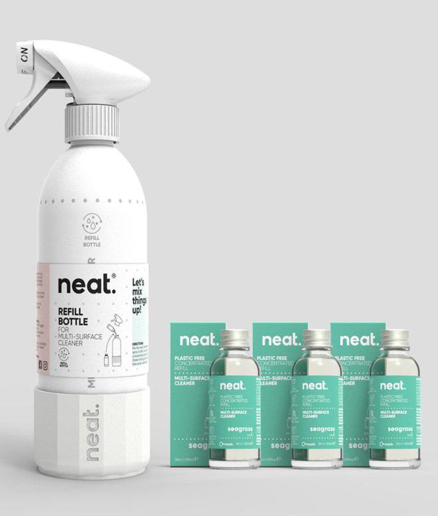 Neat Complete Multi Purpose Cleaner Set - Seagrass