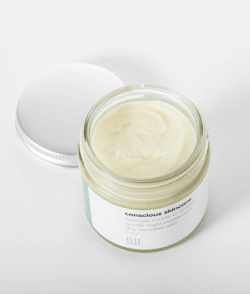 Conscious Skincare Gentle Organic Night Cream - 60ml