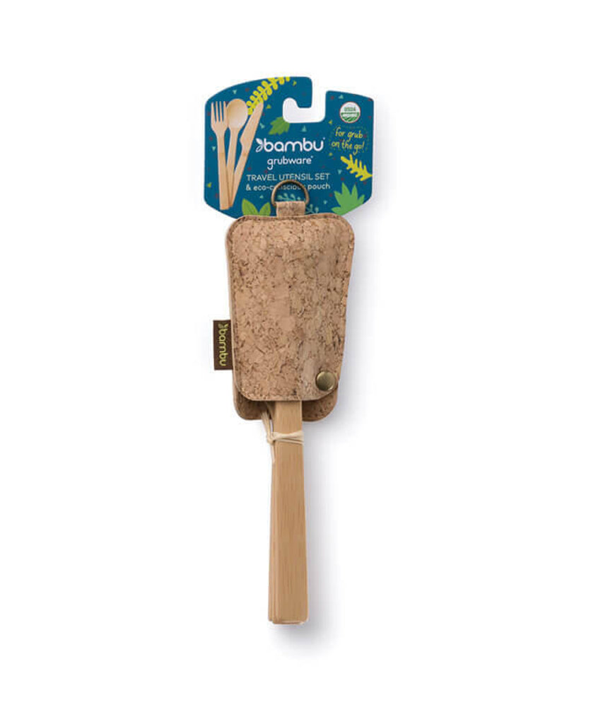 Bambu Cork Travel Set