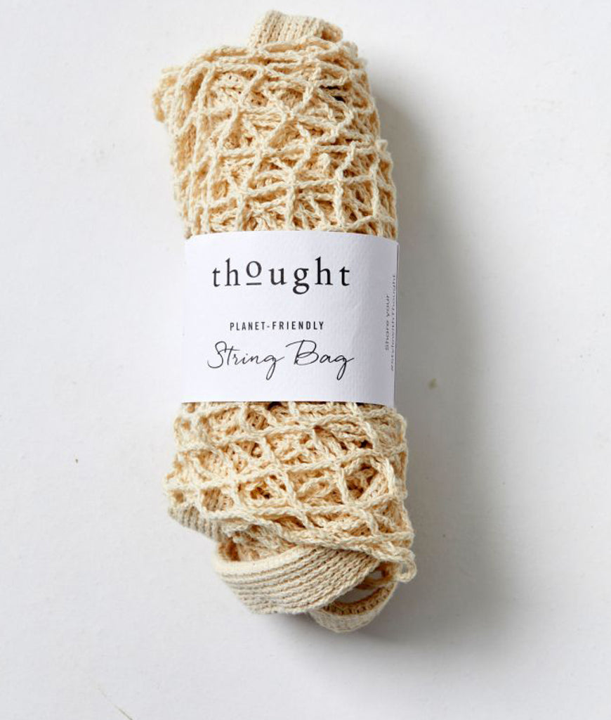 Thought Clothing Organic Cotton String Bag - Natural