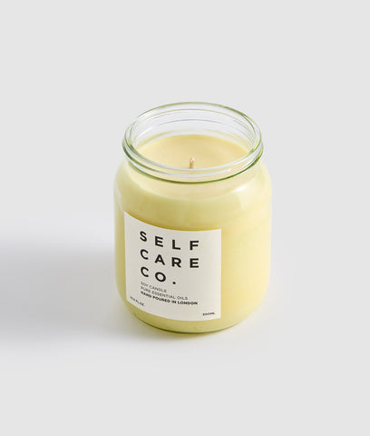 Self Care Co Aromatherapy Candle - Lavender & Orange