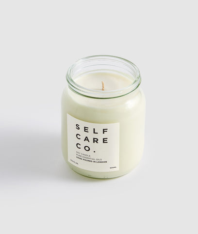 Self Care Co Aromatherapy Candle - Patchouli & Lavender