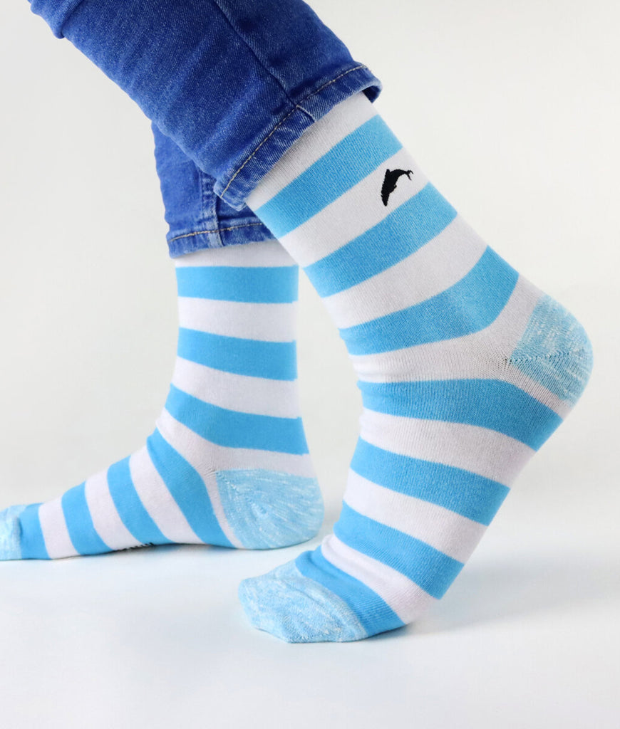 Critically Endangered Socks Maui Dolphin - Striped