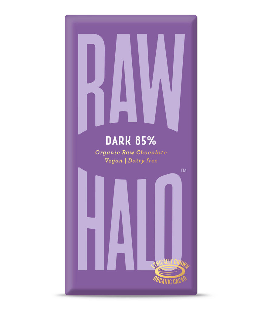 Raw Halo 85% Dark Vegan Chocolate - 70g