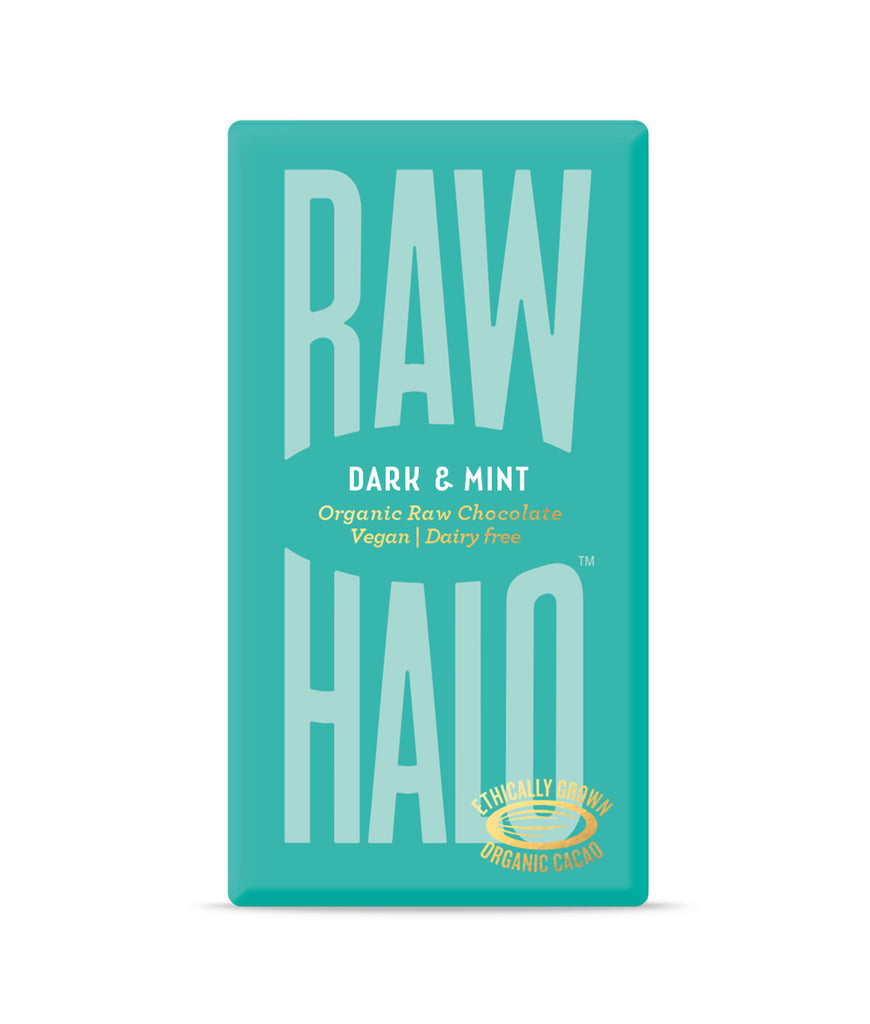 Raw Halo Dark & Mint Vegan Chocolate - 35g