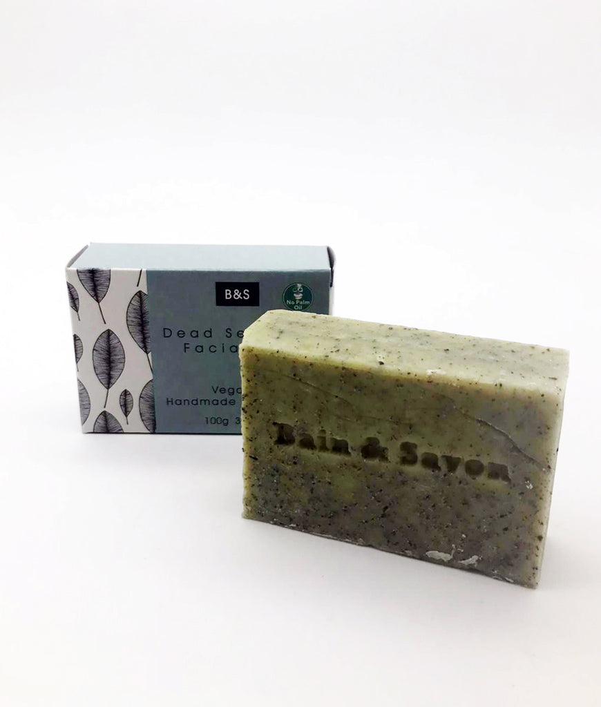 Bain & Savon Dead Sea Clay Facial Bar - 100g