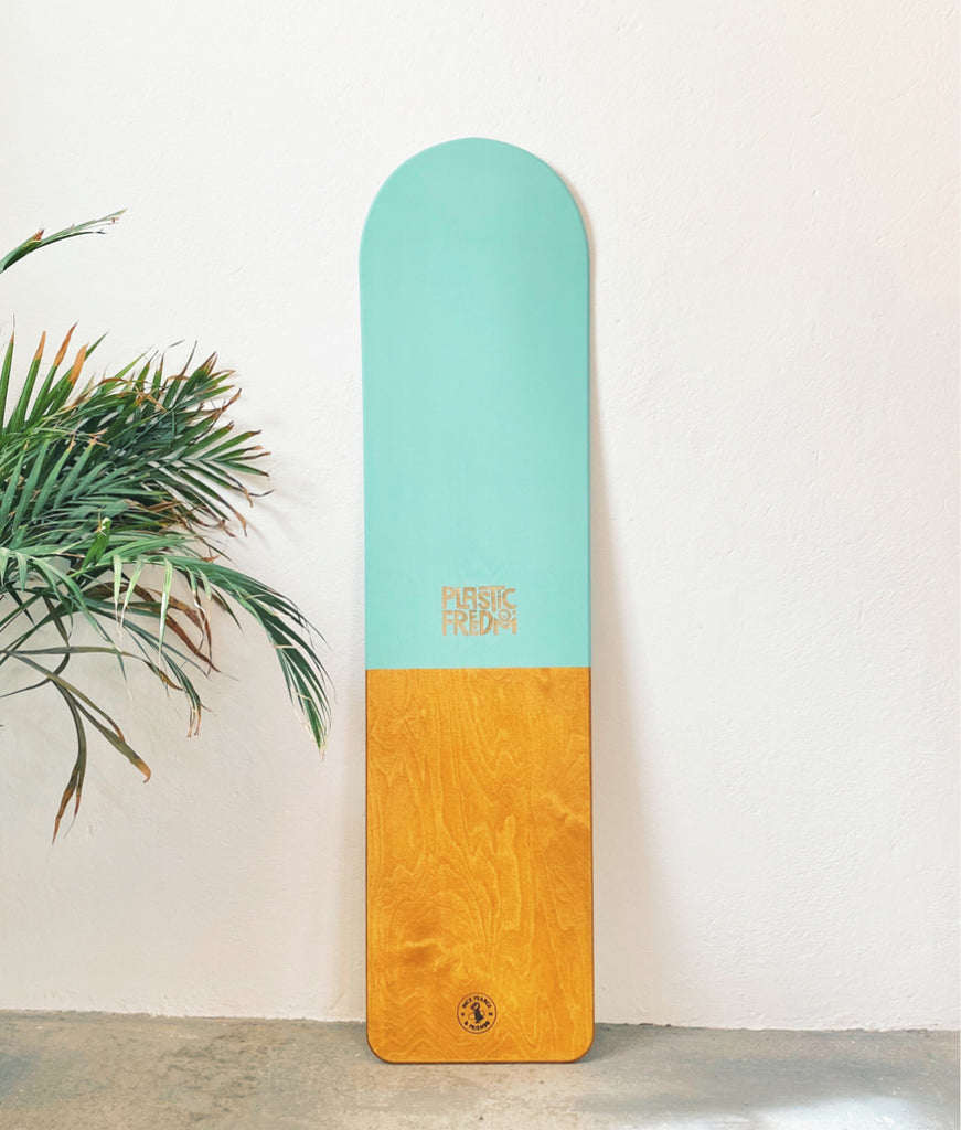 Dick Pearce x Plastic Freedom Surfrider Bellyboard - PF Green